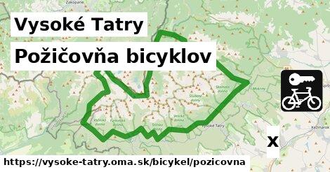 ilustračný obrázok k Požičovňa bicyklov, Vysoké Tatry