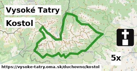 ilustračný obrázok k Kostol, Vysoké Tatry