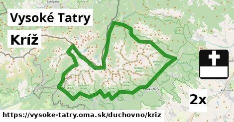 ilustračný obrázok k Kríž, Vysoké Tatry
