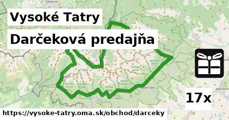ilustračný obrázok k Darčeková predajňa, Vysoké Tatry
