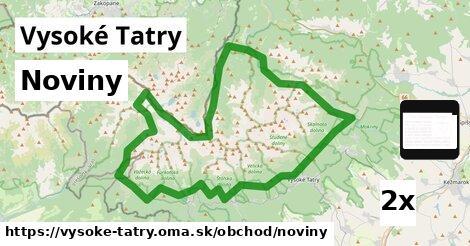 ilustračný obrázok k Noviny, Vysoké Tatry