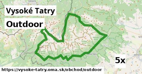 ilustračný obrázok k Outdoor, Vysoké Tatry