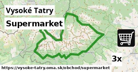 ilustračný obrázok k Supermarket, Vysoké Tatry