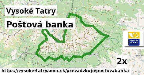 ilustračný obrázok k Poštová banka, Vysoké Tatry