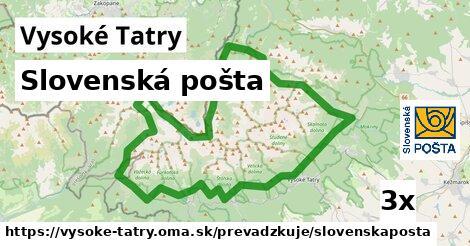 ilustračný obrázok k Slovenská pošta, Vysoké Tatry