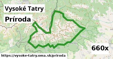 príroda v Vysoké Tatry