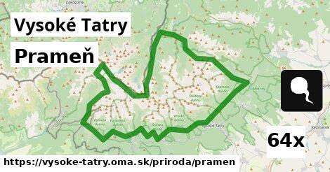 ilustračný obrázok k Prameň, Vysoké Tatry