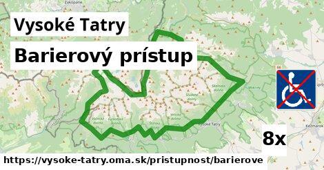 ilustračný obrázok k Barierový prístup, Vysoké Tatry