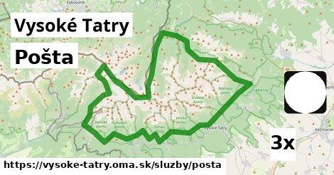 ilustračný obrázok k Pošta, Vysoké Tatry