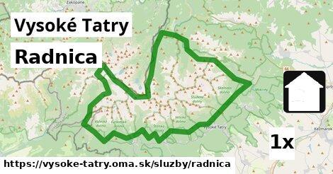 ilustračný obrázok k Radnica, Vysoké Tatry