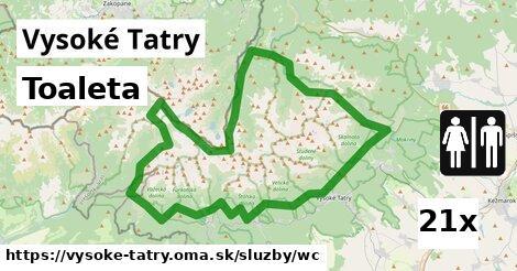 ilustračný obrázok k Toaleta, Vysoké Tatry