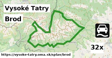 ilustračný obrázok k Brod, Vysoké Tatry