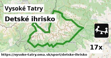 ilustračný obrázok k Detské ihrisko, Vysoké Tatry