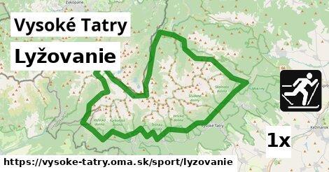 ilustračný obrázok k Lyžovanie, Vysoké Tatry
