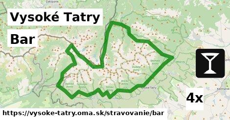 ilustračný obrázok k Bar, Vysoké Tatry
