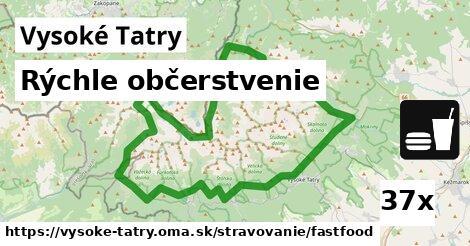 ilustračný obrázok k Rýchle občerstvenie, Vysoké Tatry