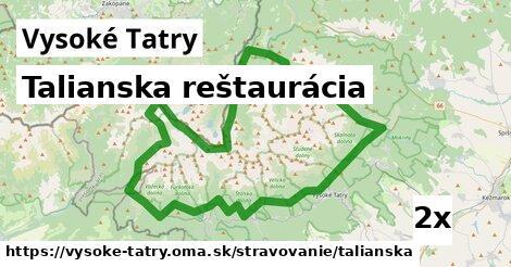 ilustračný obrázok k Talianska reštaurácia, Vysoké Tatry
