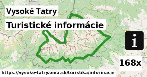 ilustračný obrázok k Turistické informácie, Vysoké Tatry
