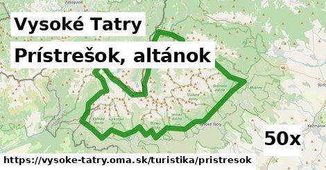 ilustračný obrázok k Prístrešok, altánok, Vysoké Tatry