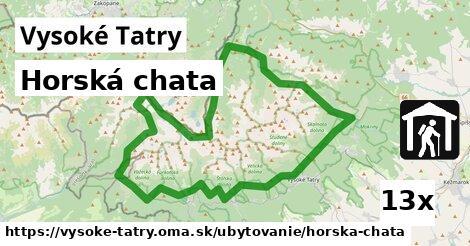 ilustračný obrázok k Horská chata, Vysoké Tatry