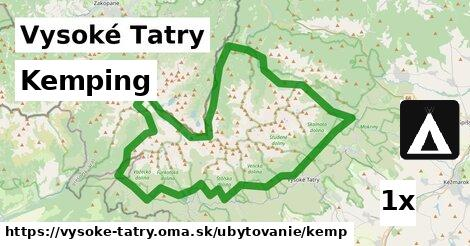 ilustračný obrázok k Kemping, Vysoké Tatry