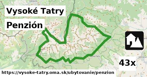 ilustračný obrázok k Penzión, Vysoké Tatry