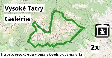 ilustračný obrázok k Galéria, Vysoké Tatry