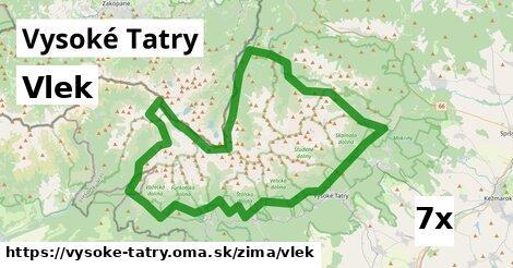 ilustračný obrázok k Vlek, Vysoké Tatry
