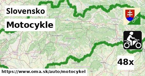 ilustračný obrázok k Motocykle, Slovensko