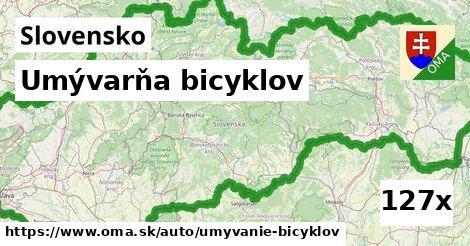 ilustračný obrázok k Umývarňa bicyklov, Slovensko