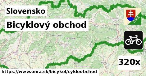 ilustračný obrázok k Bicyklový obchod, Slovensko