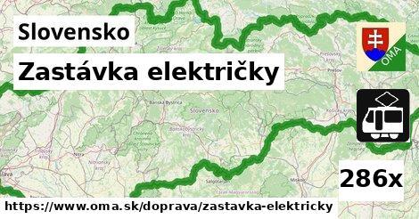 ilustračný obrázok k Zastávka električky, Slovensko
