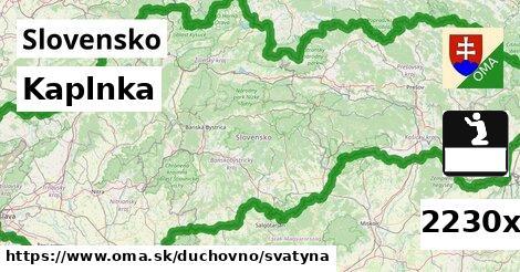 ilustračný obrázok k Kaplnka, Slovensko