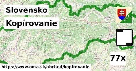 ilustračný obrázok k Kopírovanie, Slovensko