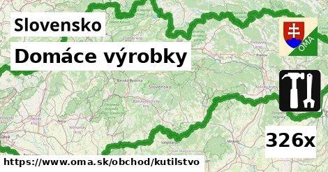 ilustračný obrázok k Domáce výrobky, Slovensko