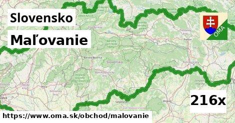 ilustračný obrázok k Maľovanie, Slovensko