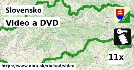 ilustračný obrázok k Video a DVD, Slovensko