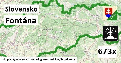 ilustračný obrázok k Fontána, Slovensko