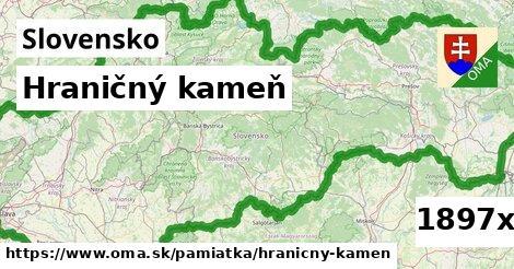 ilustračný obrázok k Hraničný kameň, Slovensko