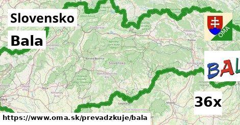 ilustračný obrázok k Bala, Slovensko