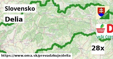 ilustračný obrázok k Delia, Slovensko