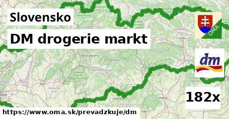 ilustračný obrázok k DM drogerie markt, Slovensko