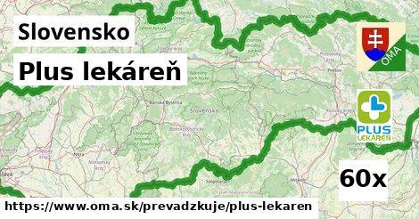 ilustračný obrázok k Plus lekáreň, Slovensko