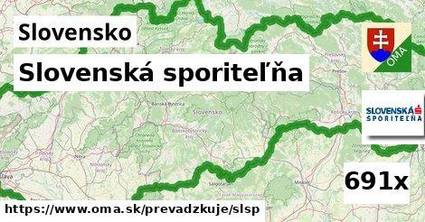 ilustračný obrázok k Slovenská sporiteľňa, Slovensko