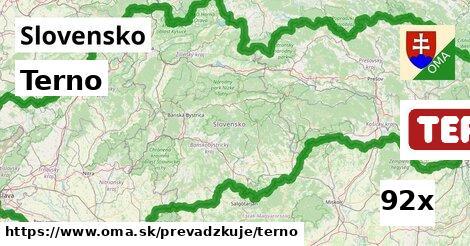 ilustračný obrázok k Terno, Slovensko
