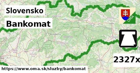ilustračný obrázok k Bankomat, Slovensko