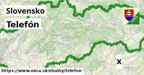 ilustračný obrázok k Telefón, Slovensko