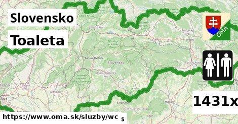 ilustračný obrázok k Toaleta, Slovensko