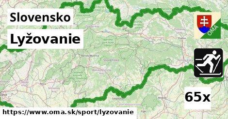 ilustračný obrázok k Lyžovanie, Slovensko