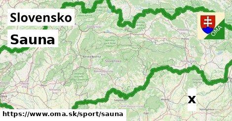 ilustračný obrázok k Sauna, Slovensko